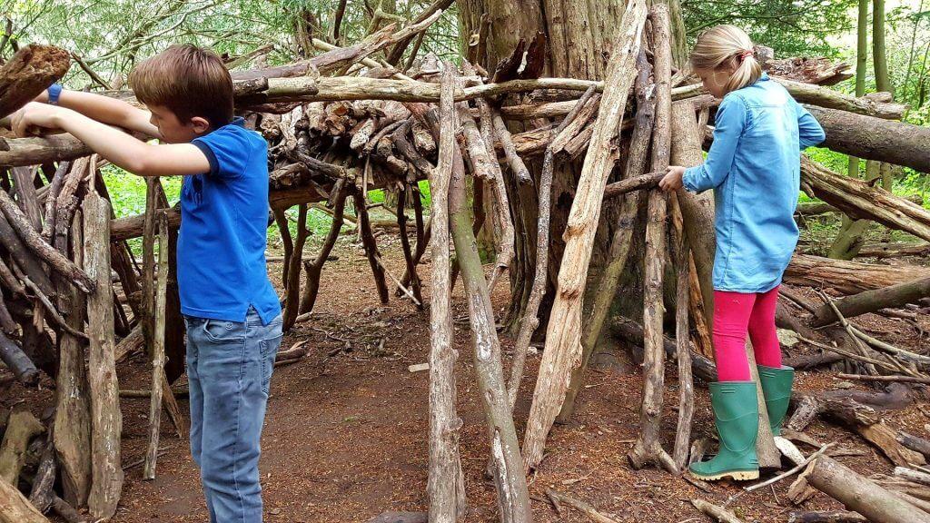 Den Building Is One Of The Most Popular Forest School Activities