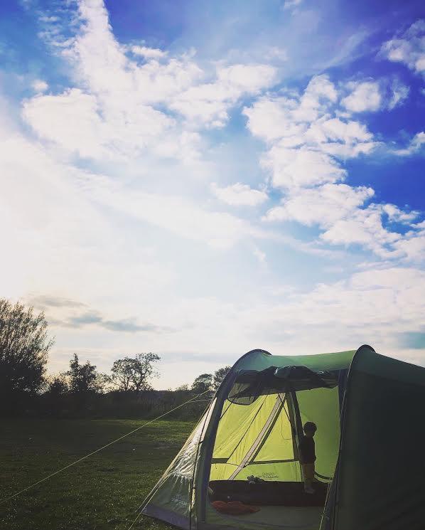 Tent Blue Sky
