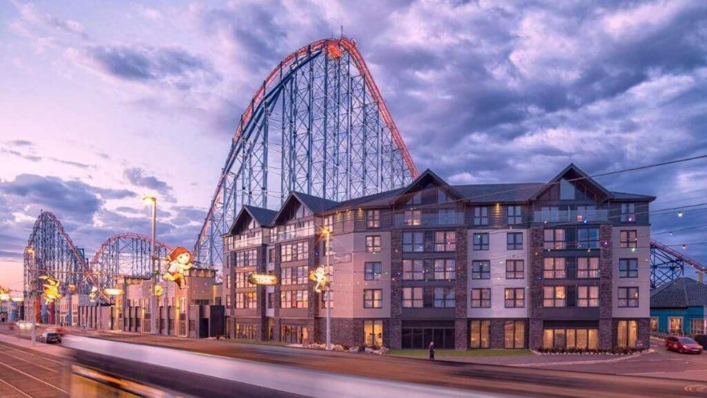 Boulevard Seafront Hotel Blackpool