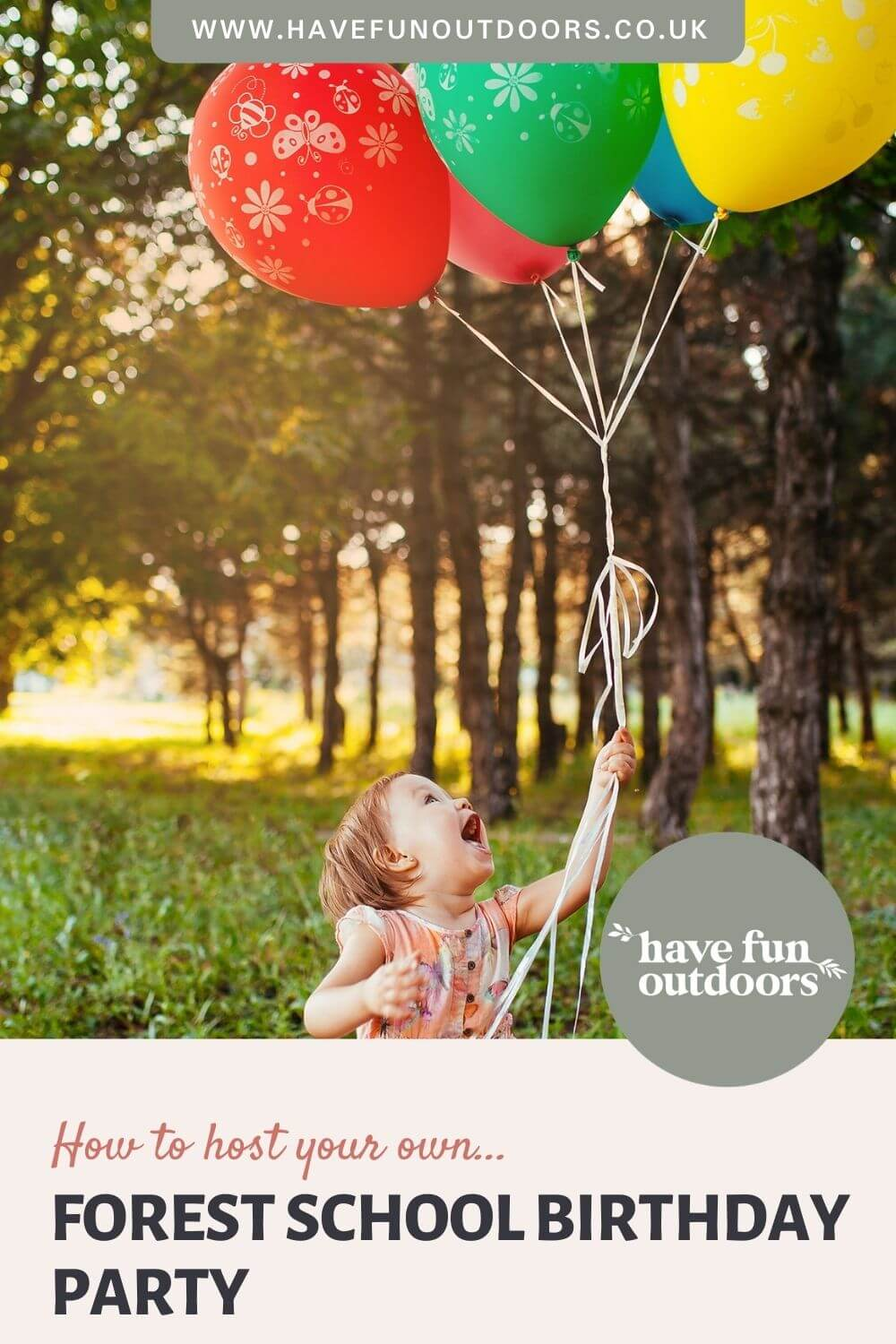 Forest School Birthday Parties | Outdoor Birthday Party Inspiration, Ideas and Themes