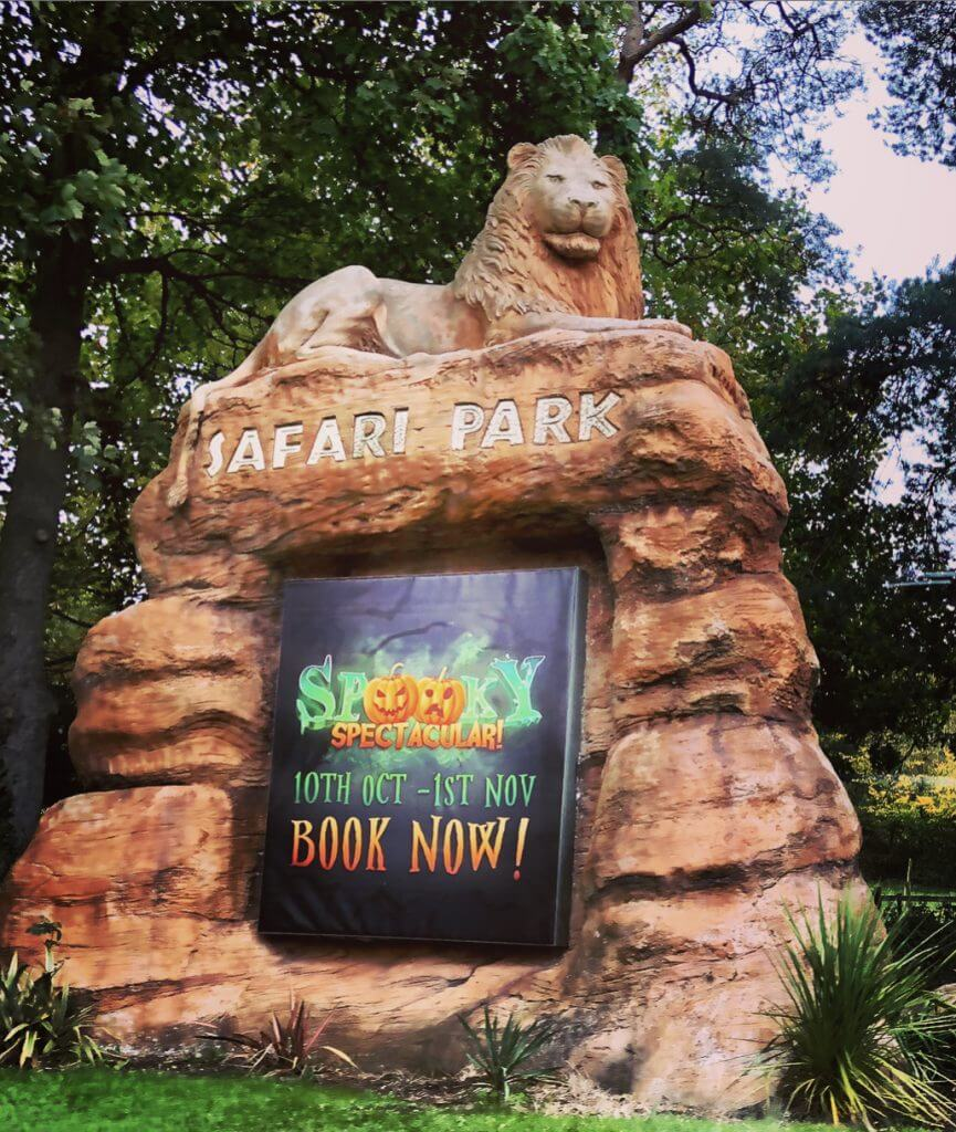 West Midland Safari Park Entrance