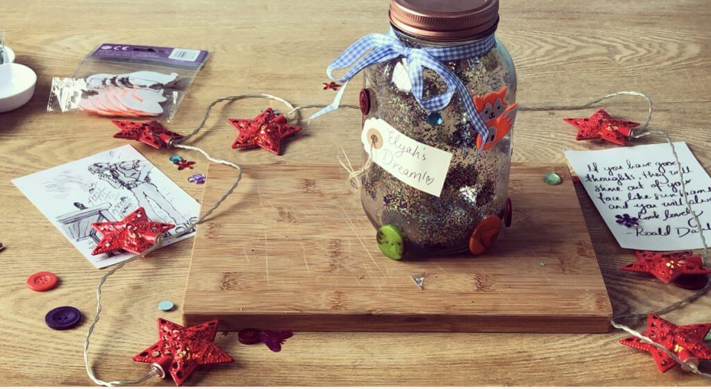 Dream Jar Ribbon