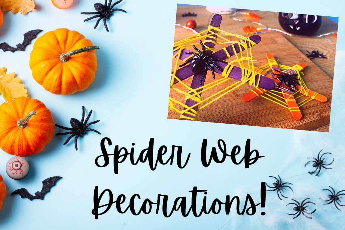 Spider Web Decorations