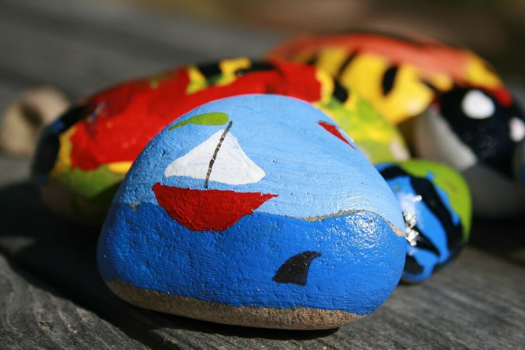 Story Stones Are A Fun Outdoor Activity For Toddlers