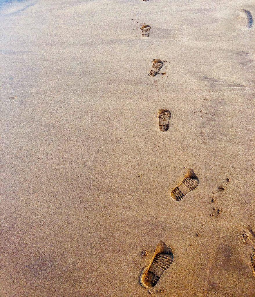 Sand Footprints