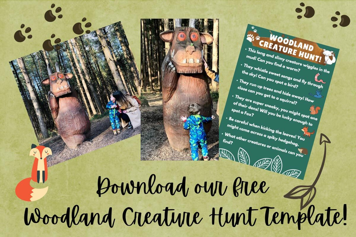 Gruffalo Trails in the UK
