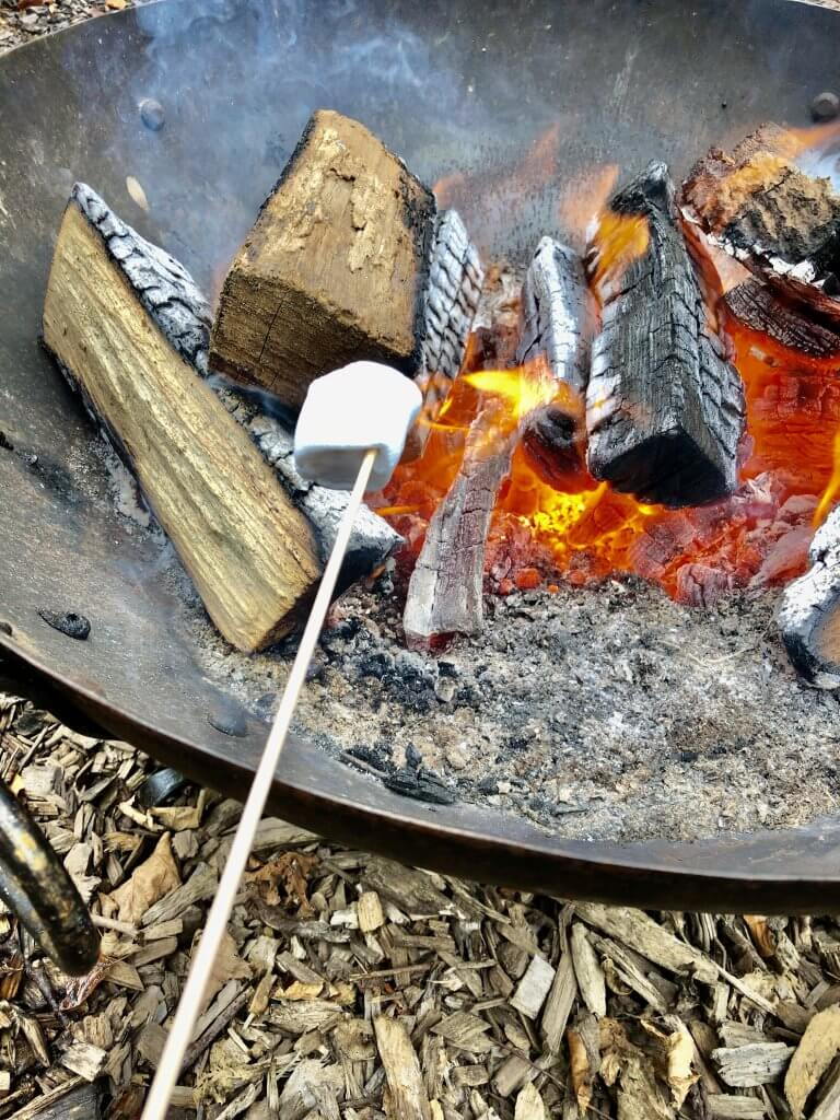 Making a campfire is an essential bushcraft skill for children
