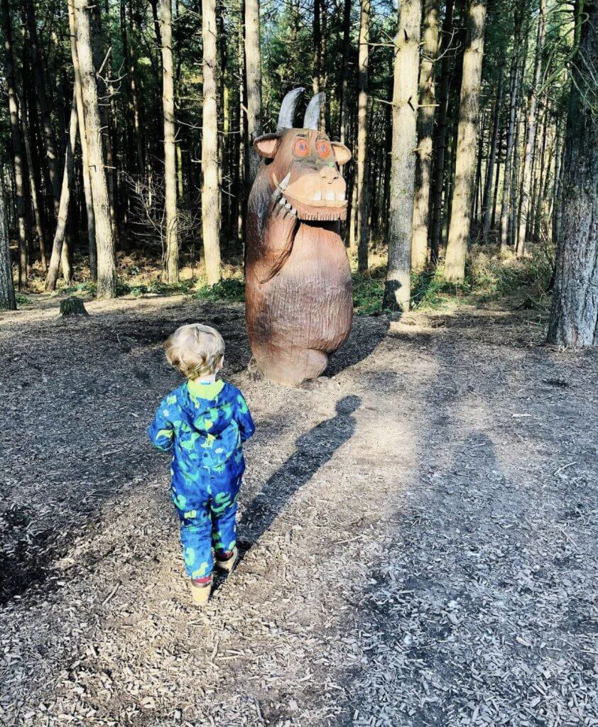 Gruffalo Trail at Delamere Forest