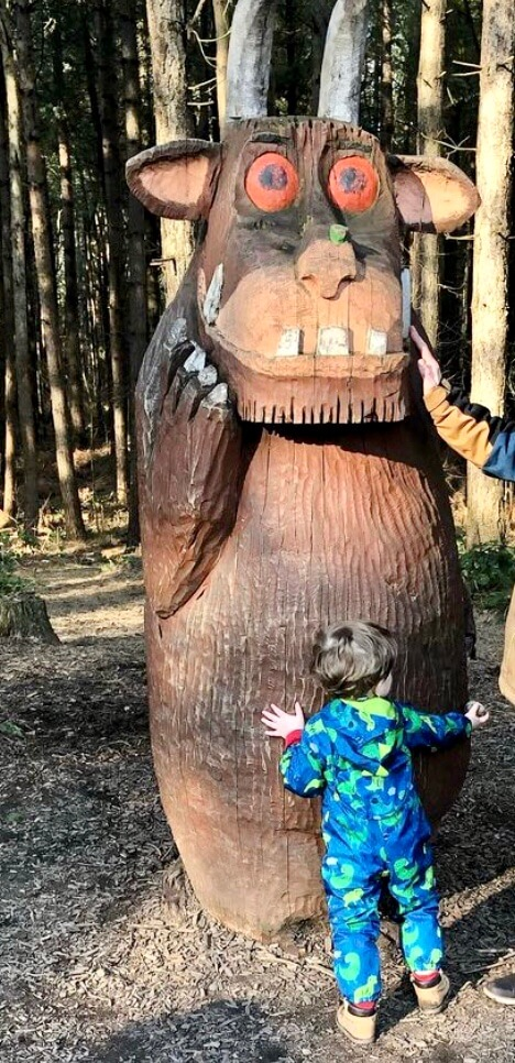 Gruffalo Trails are a fun day out with the kids