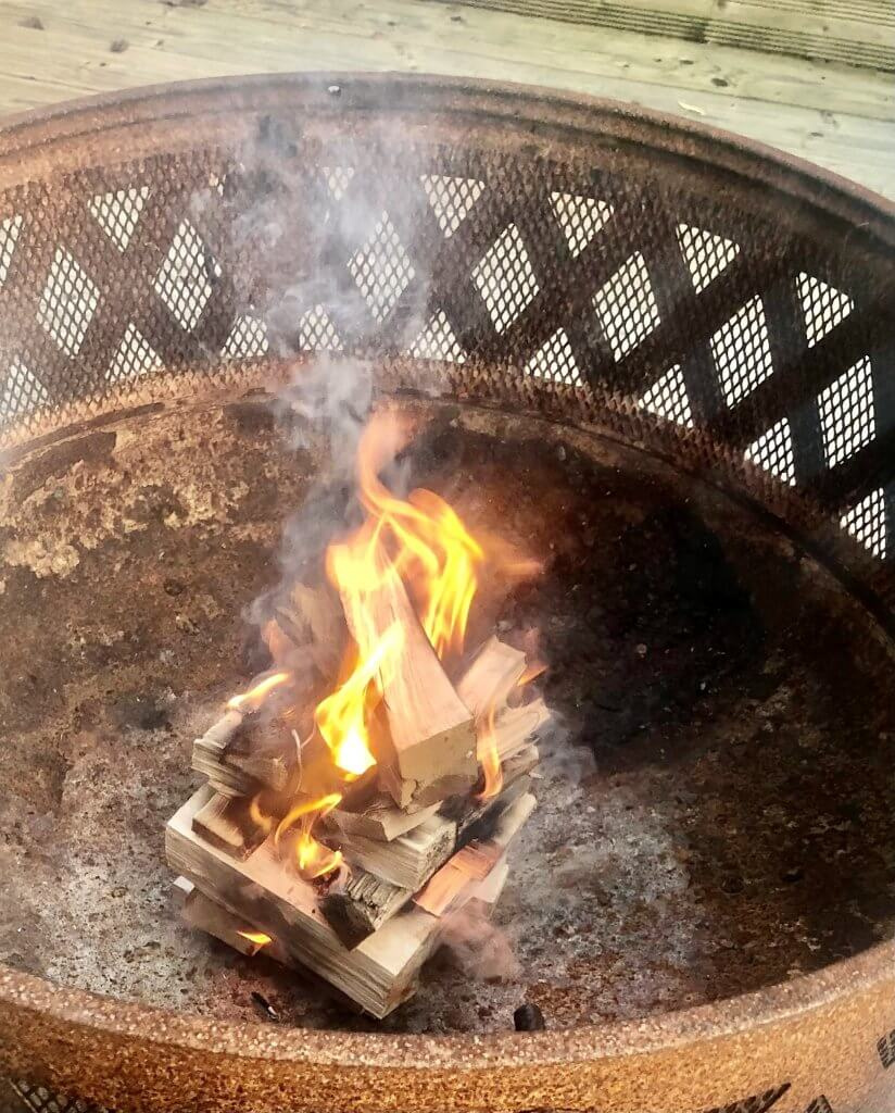 The best wood for fire pits