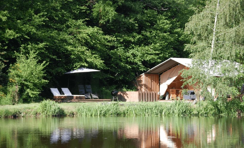Liden Tree Lakes, Log Cabin & Fishing Lake