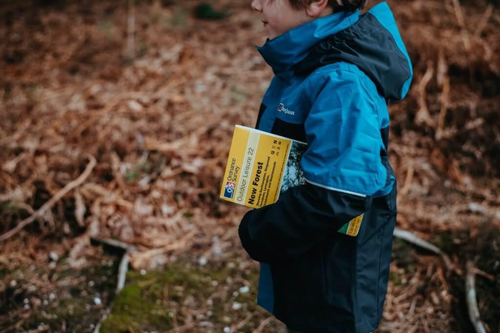 Bushcraft For Children, Child With Map
