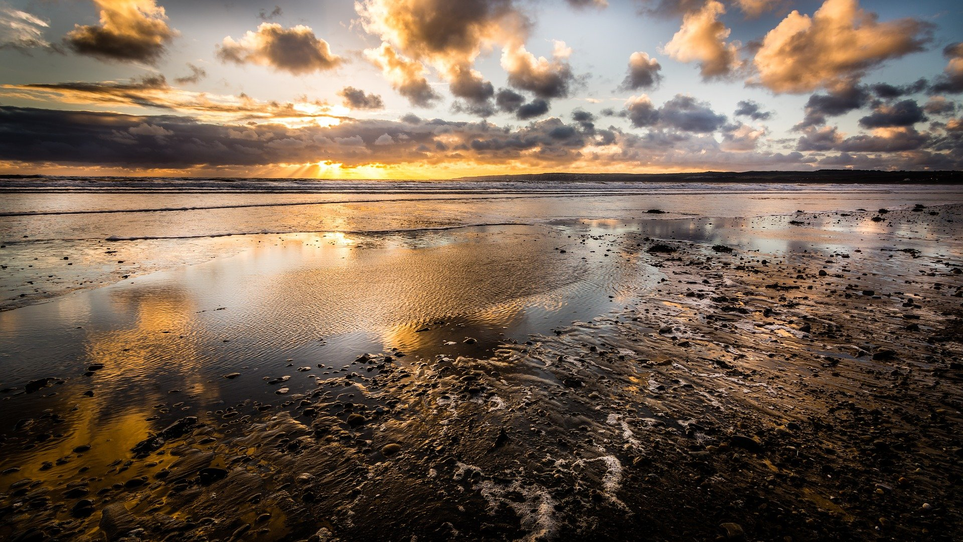 Filey is a popular day out in Yorkshire