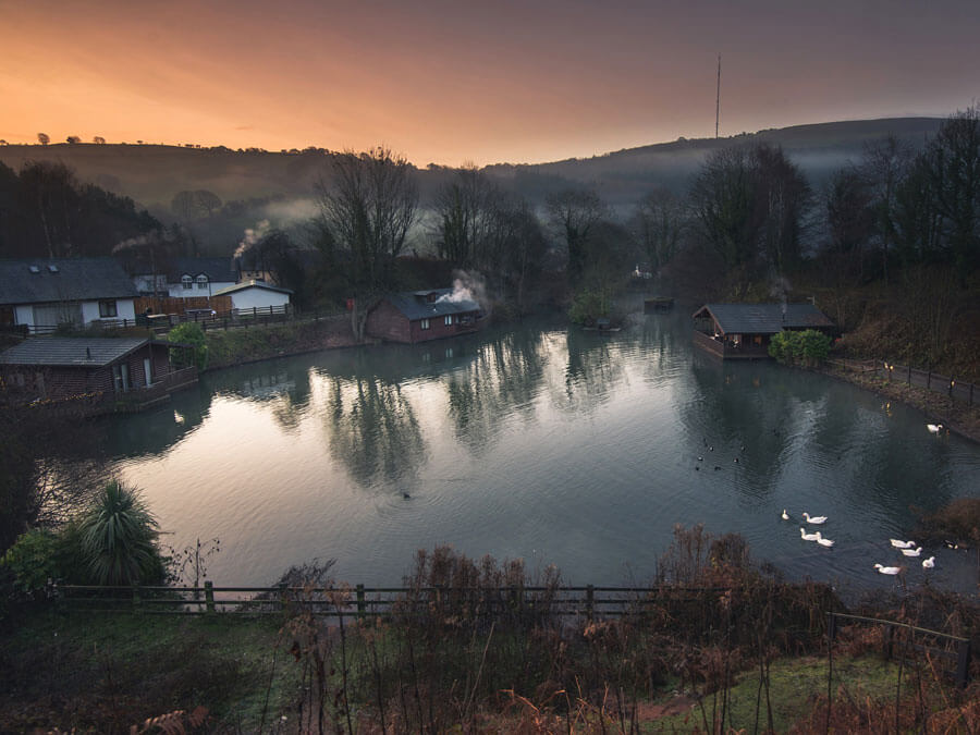 Herons Lake Retreat offer dog friendly log cabins with hot tubs