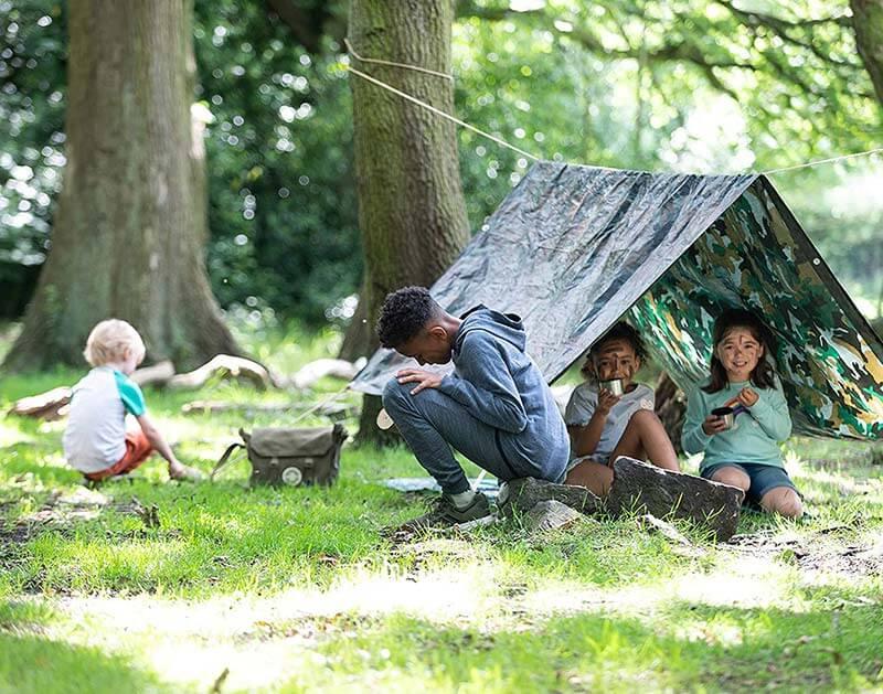 The Den Kit Company outdoor den kit