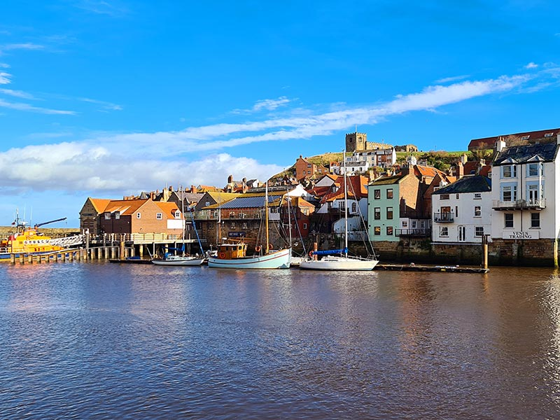 Whitby is one of the top days out in Yorkshire