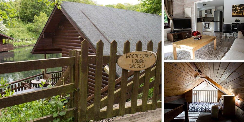 Woodpecker Dog Friendly Lodge at Heron Lake Retreat