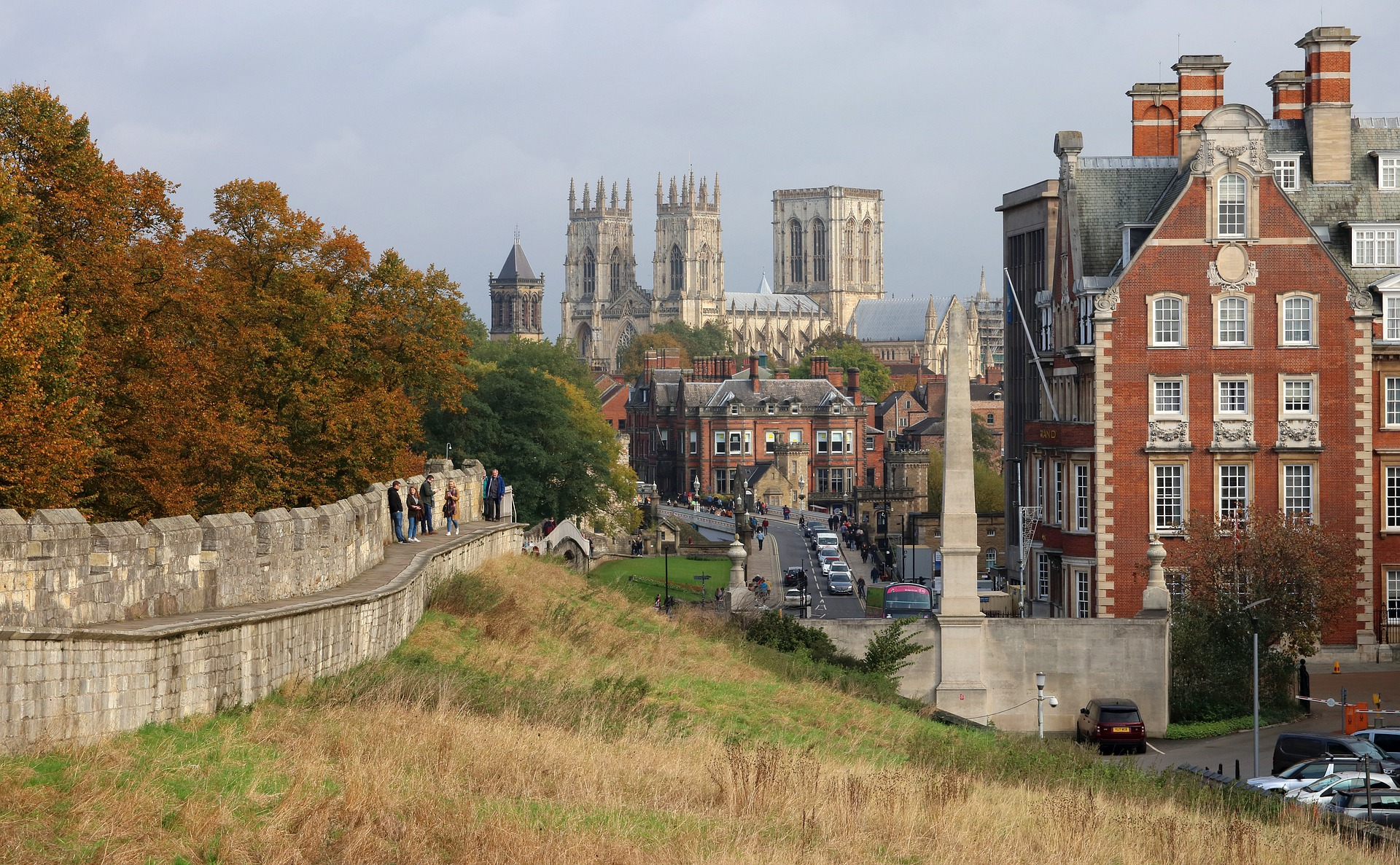 York is one of the most popular days out in Yorkshire.