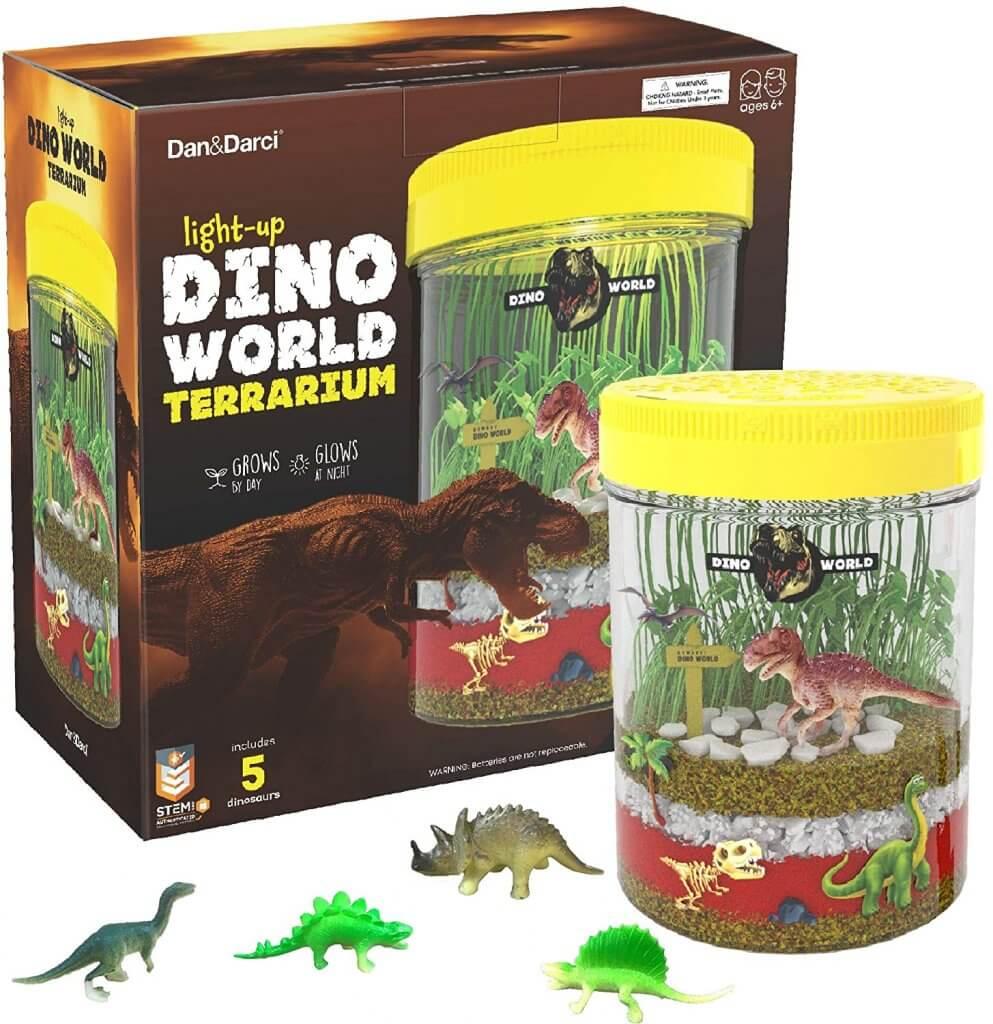 Dinosaur Terrarium Seed Growing Kit for Kids