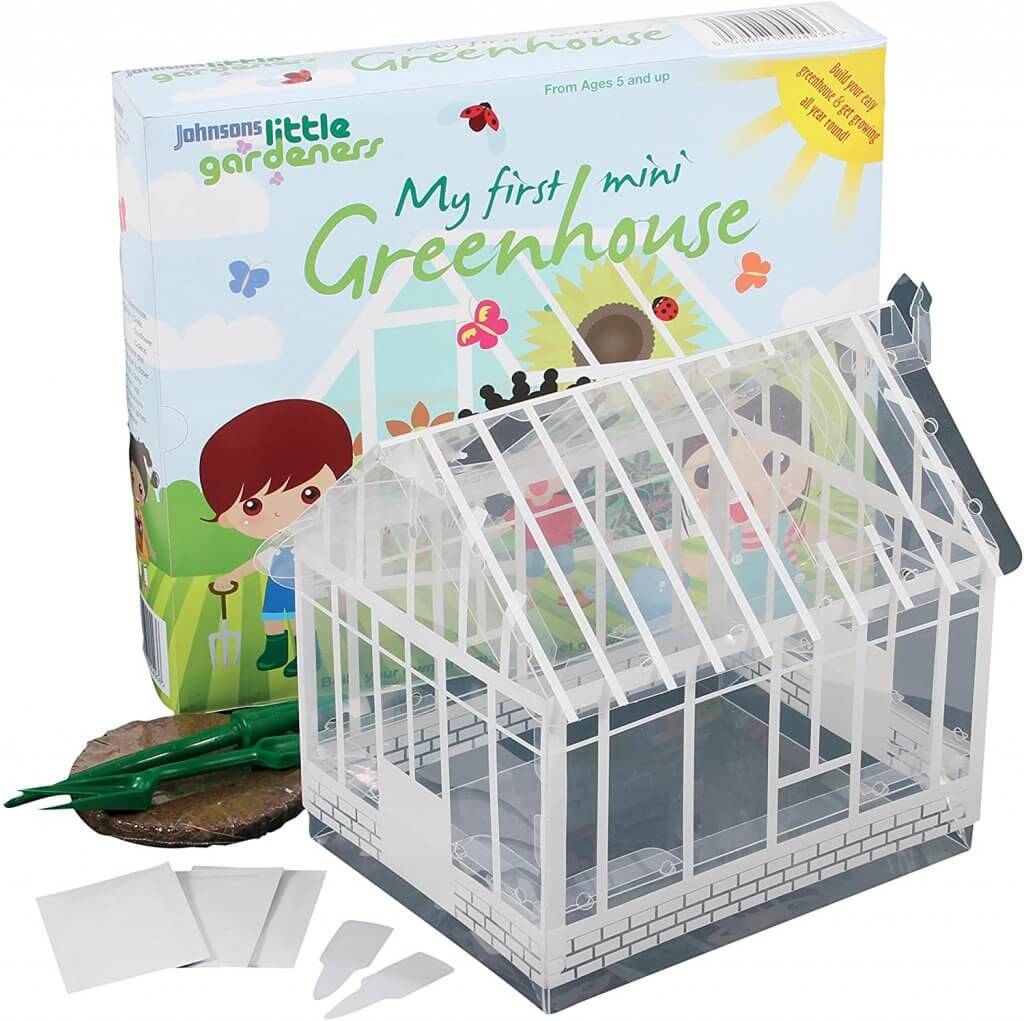 My First Mini Greenhouse Childrens Seed Growing Kit