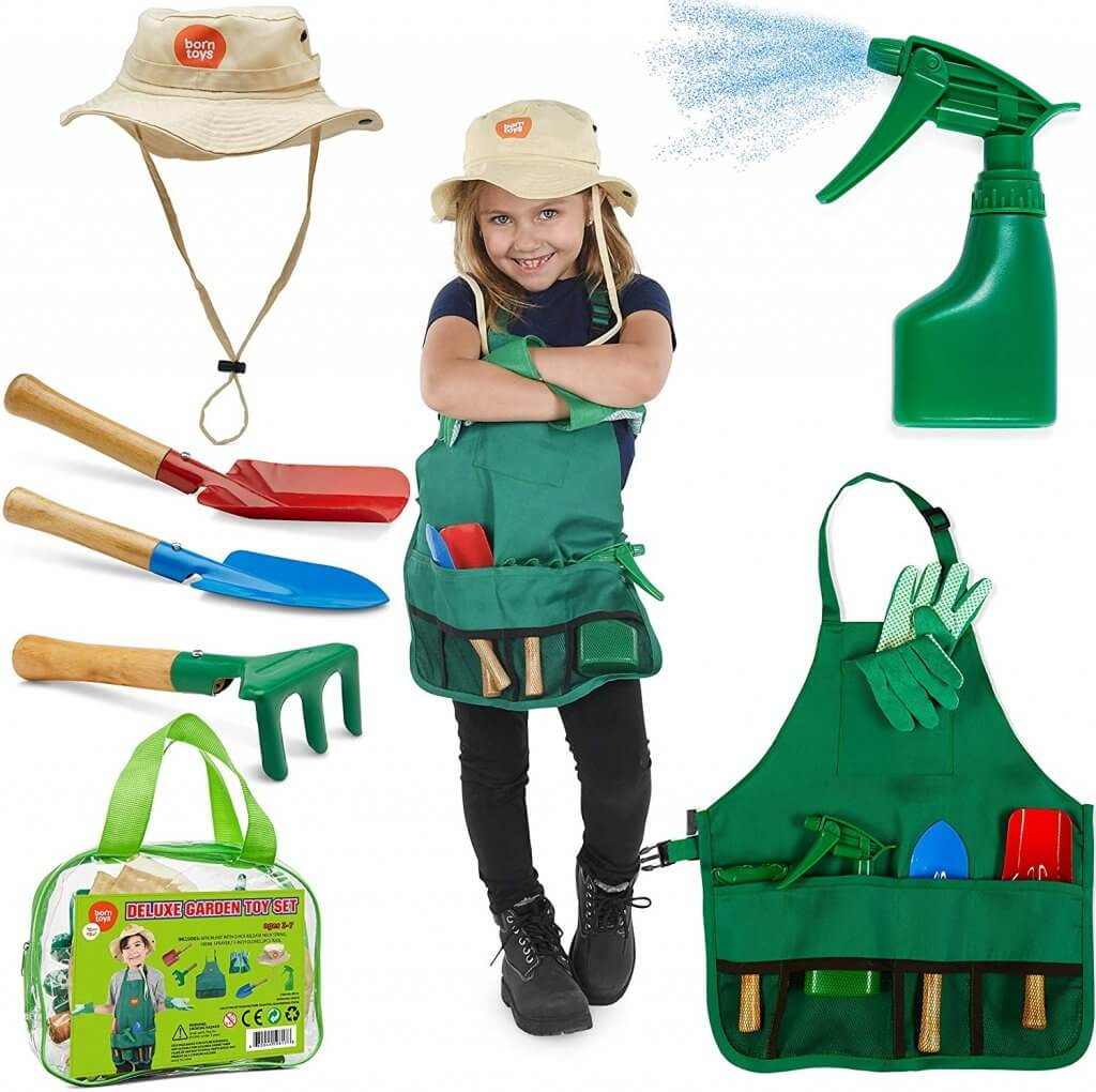 Children's Gardening Sets With Apron