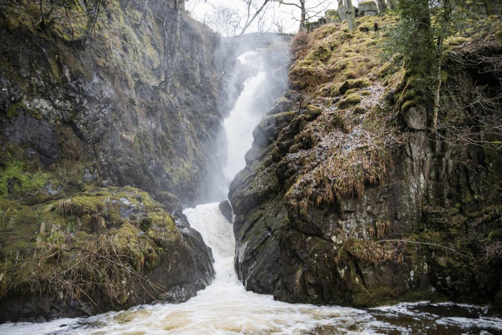 Aira Force Waterfall, Lake District, UK