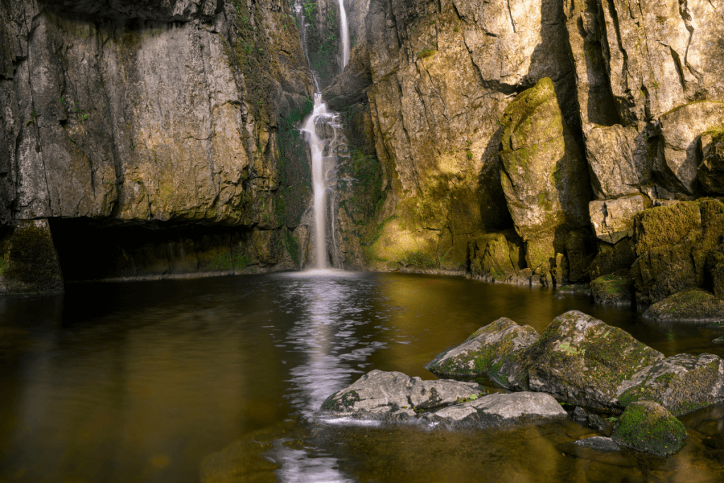Catrigg Force Waterfall in Yorkshire