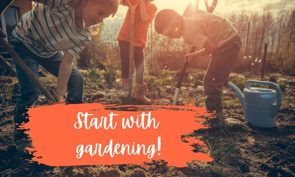 Create your own outdoor classroom