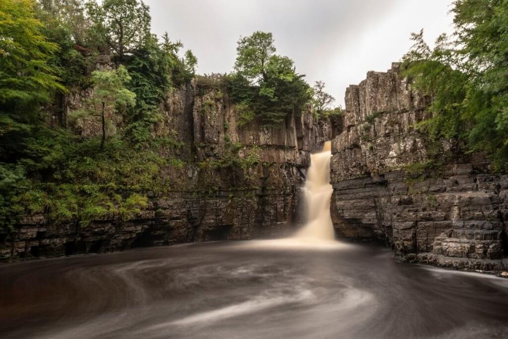 High Force is one of the best waterfalls in the UK