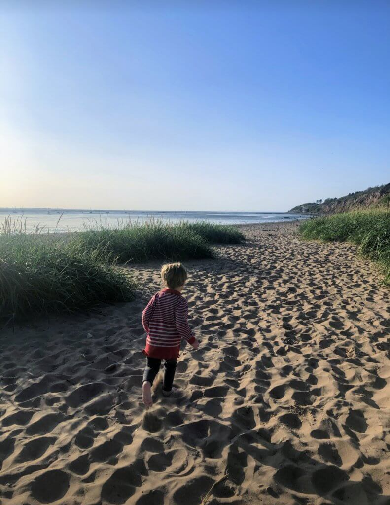 Thurstaston is one of the best beaches in The Wirral
