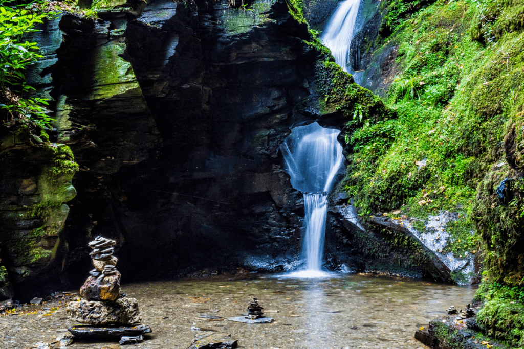 St. Nectan's Glen is one of the most popular waterfalls in the UK