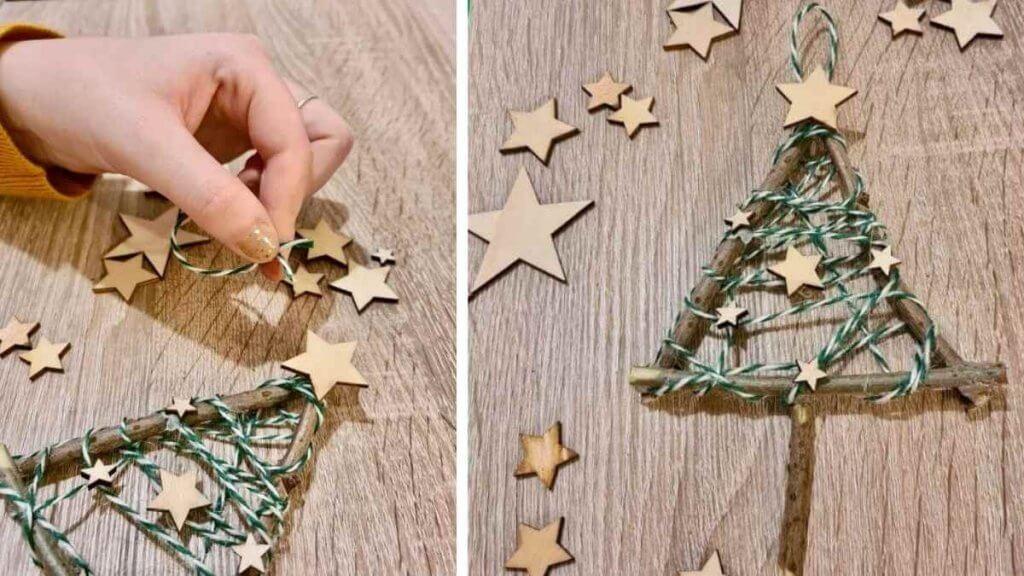 Step Three Christmas Tree Twig