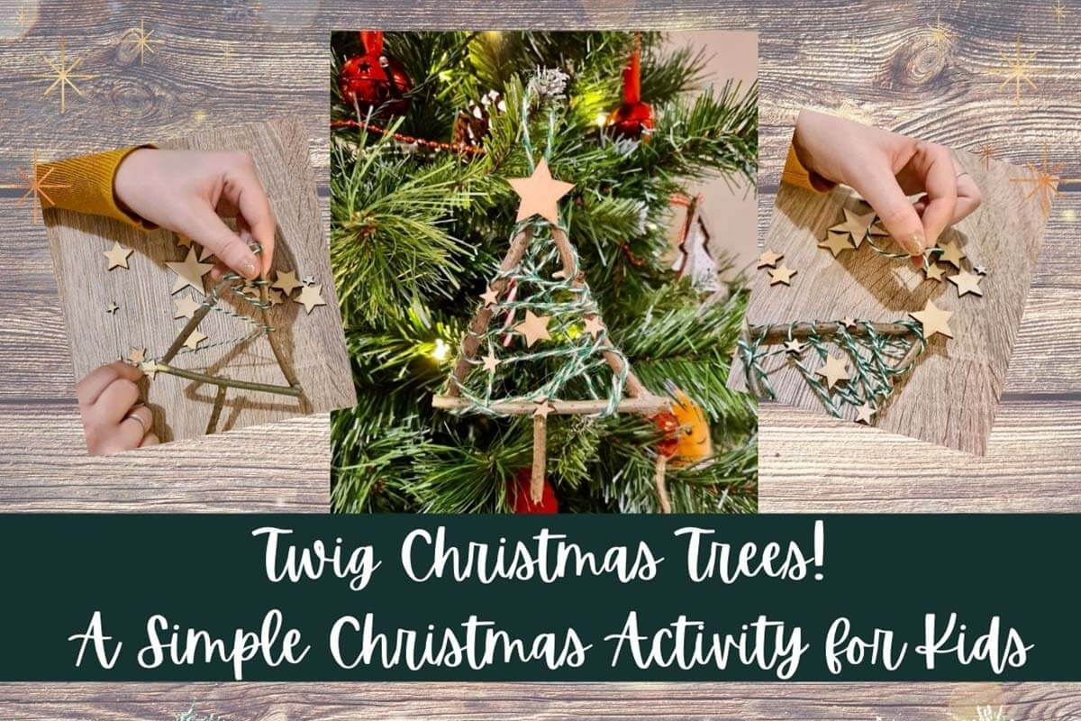 Twig Christmas Trees Craft