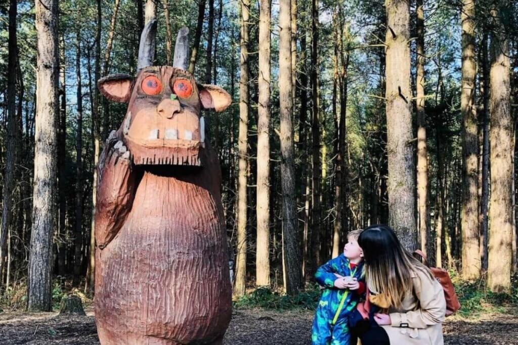 Gruffalo Trails Are A Fun Outdoor Literacy Activity for Kids