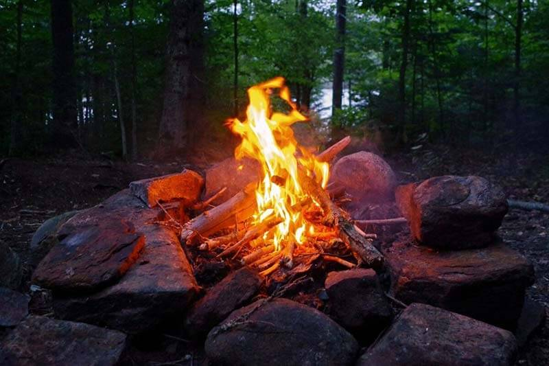 Outdoor first aid is essential around fires