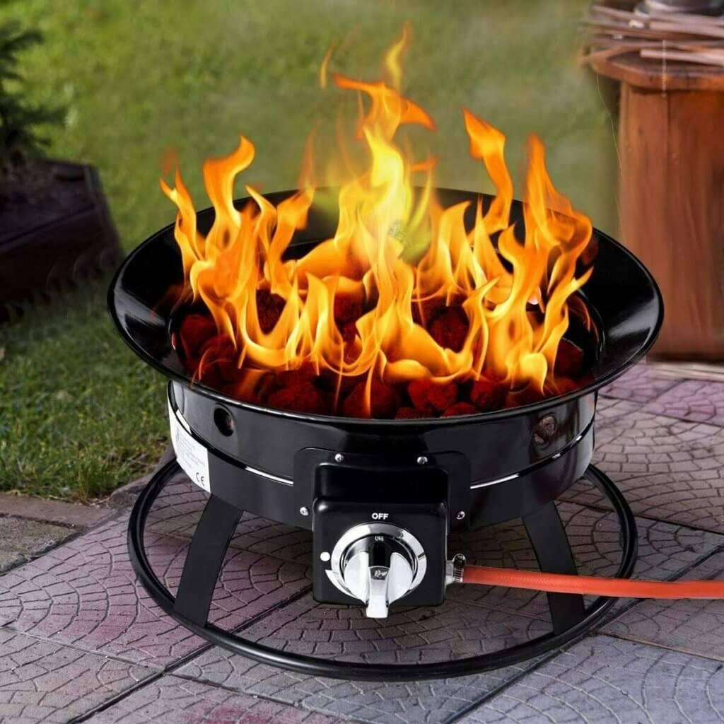Glow Warm Portable Gas Fire Pit