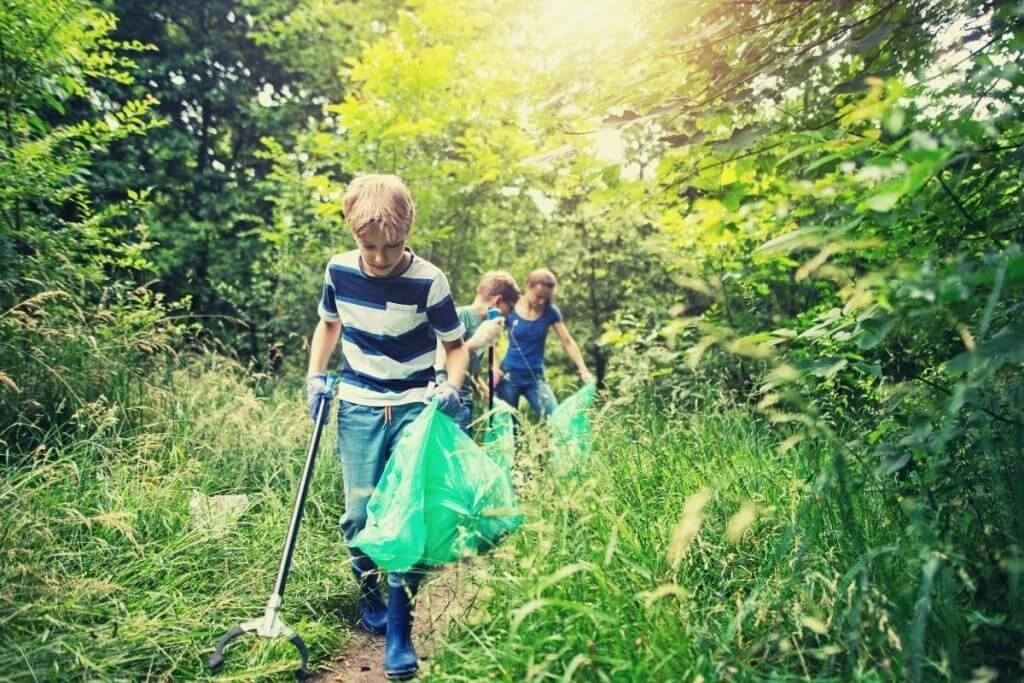 Go for a Nature Clean Up Walk