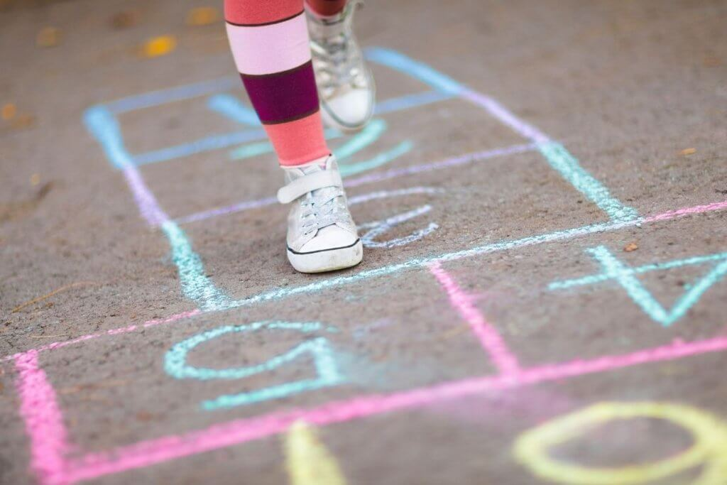 Hopscotch Game Outdoor Obstacle Course