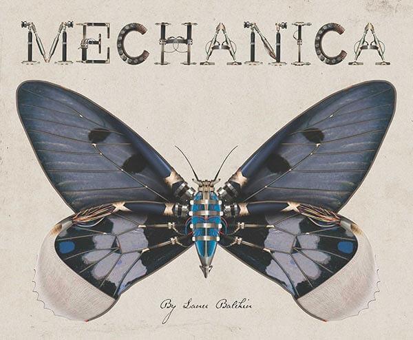 echanica nature book for kids, Lance Baldachin