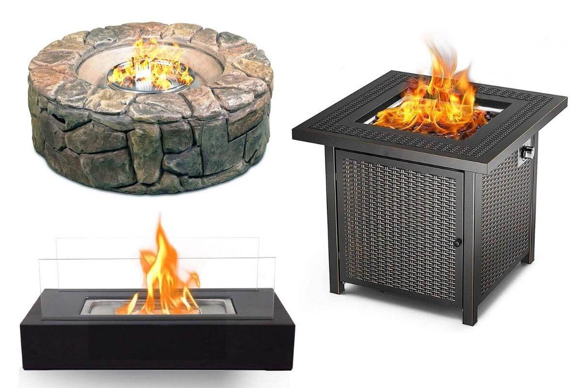 Patio Gas Fire Pits