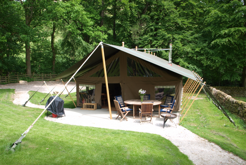 Glamping in the Peak District with Safari Tents