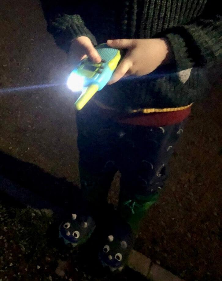 Kearui Walkie Talkie at Night
