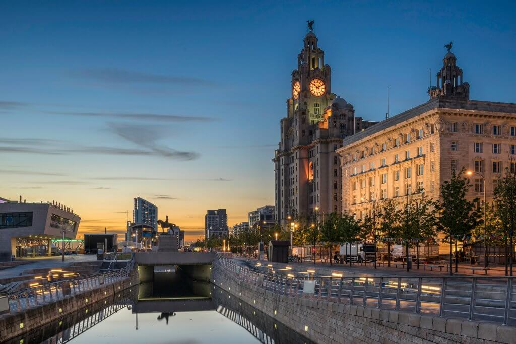 Liverpool Docks Area