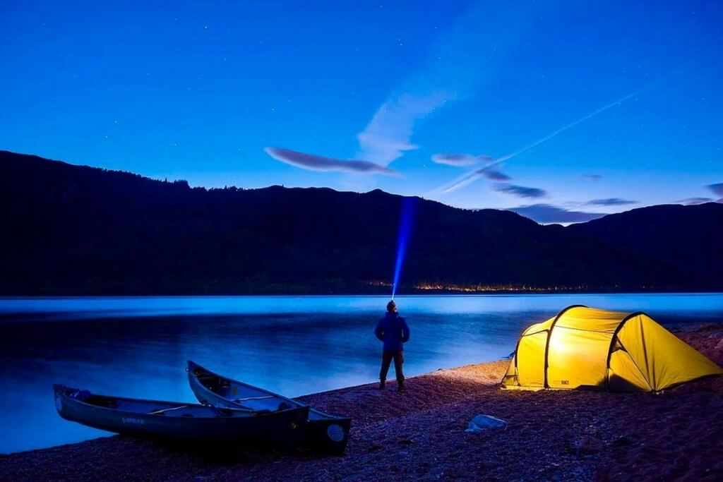 Adventure Breaks For Adults - Canoe Scotland Staycation Evening