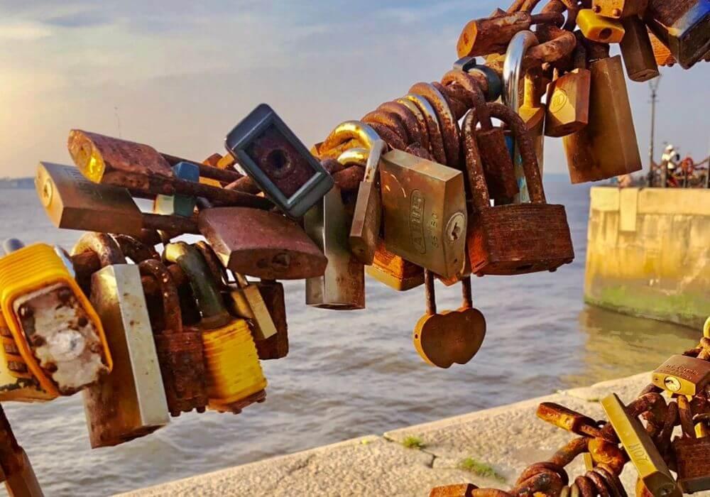 Albert Dock Love Locks