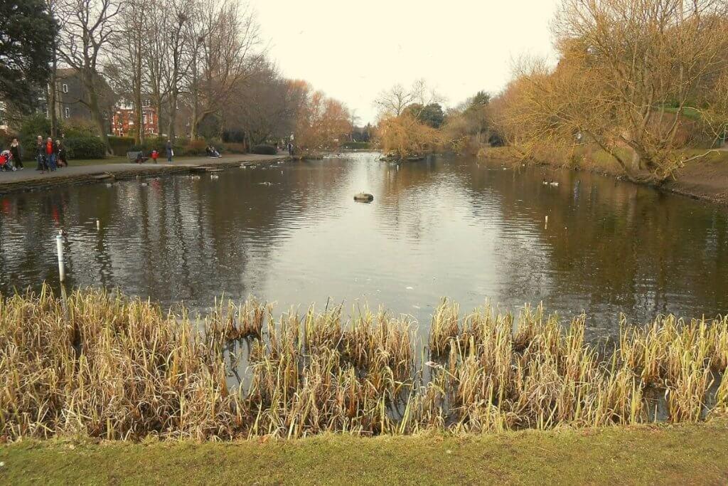 Ashton Park in Wirral