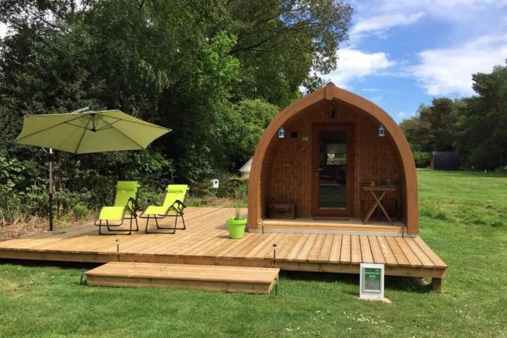 Back of Beyond Glamping in The New Forest