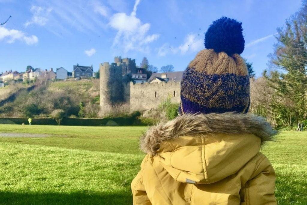 Conwy Castle Walls Toddler
