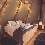 Glamping in the Peak District