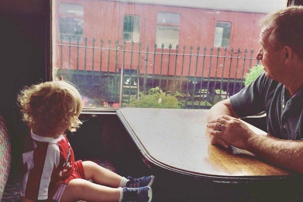Langollen Steam Train